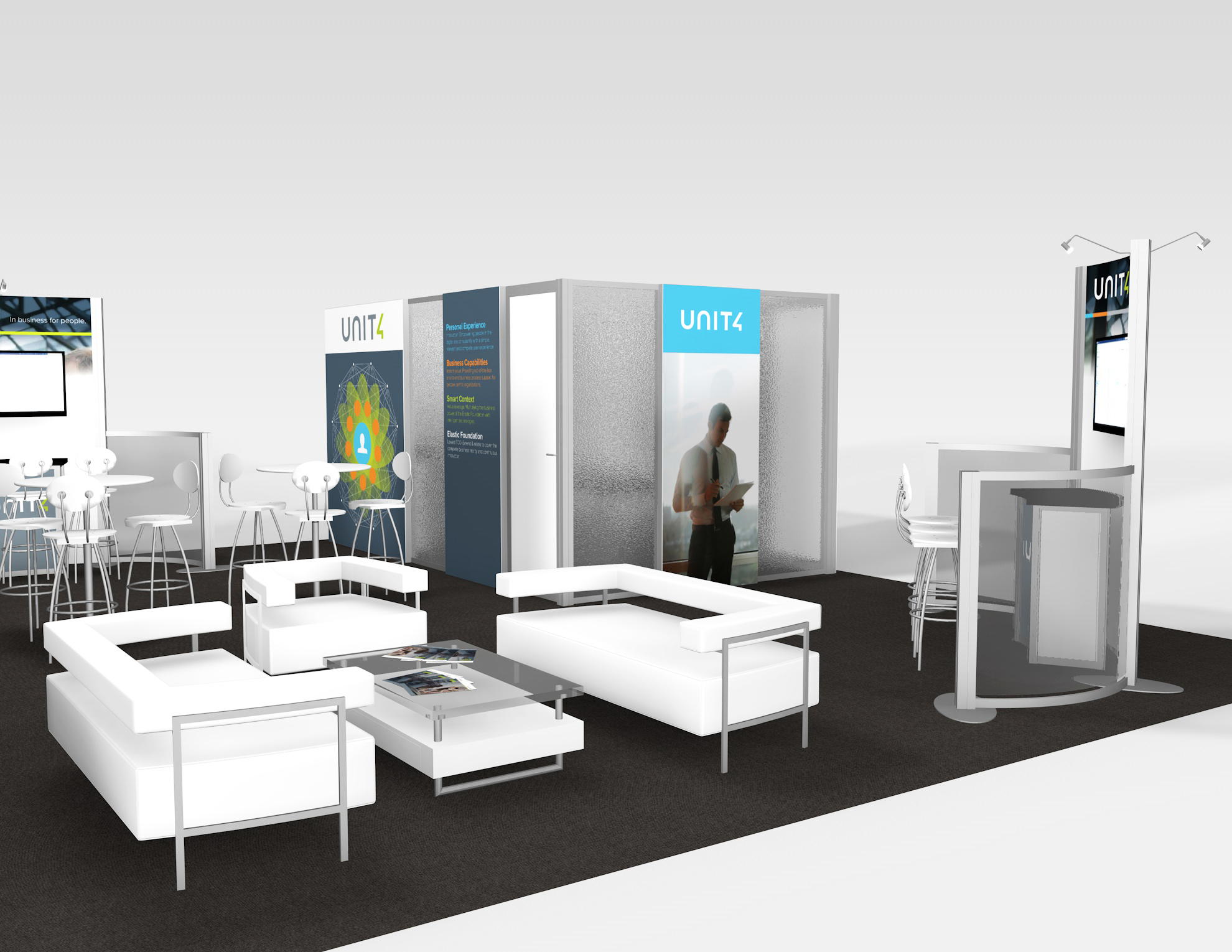 RE-9083 Rental Exhibit / 30' x 40' Island Trade Show Display – Image 6