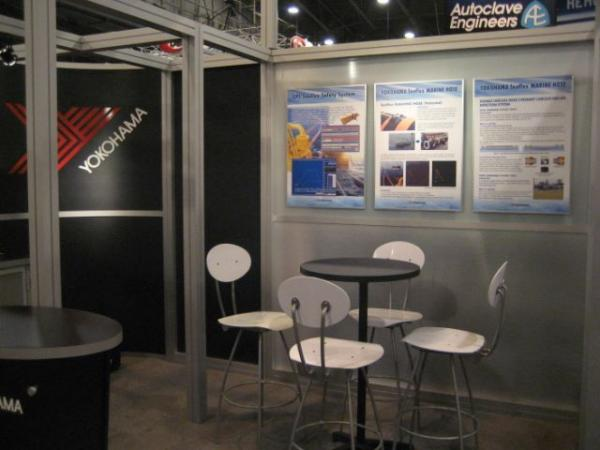 RE-9025 Rental Exhibit / 20� x 20� Island Trade Show Display � Image 13