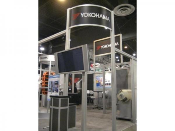 RE-9025 Rental Exhibit / 20� x 20� Island Trade Show Display � Image 7