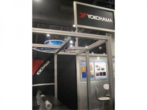 RE-9025 Rental Exhibit / 20� x 20� Island Trade Show Display � Image 8