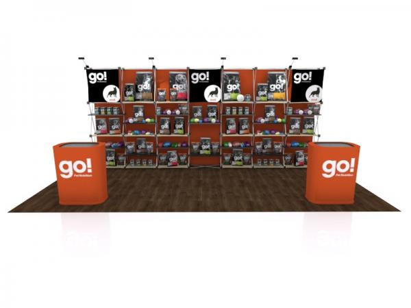 FG-205 Trade Show Pop Up Display -- Version 2a