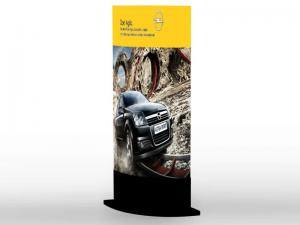 3D Banner Stand