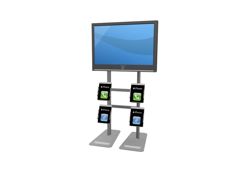 MOD-1244 Workstation/Kiosk for Trade Shows or Events -- Image 3