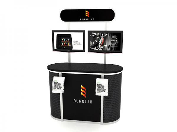MOD-1231 Trade Show Workstation / Kiosk -- Image 1