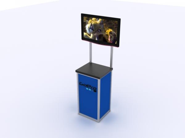 MOD-1534 Trade Show Monitor Stand -- Image 3