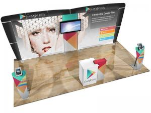 ECO-2053 10' x 20' Sustainable Hybrid Display -- Image 1