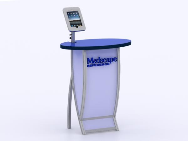VK-1667 Trade Show Workstation or Kiosk -- Image 1