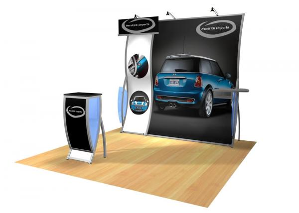 Perfect 10 VK-1504 Portable Hybrid Trade Show Display -- Image 2