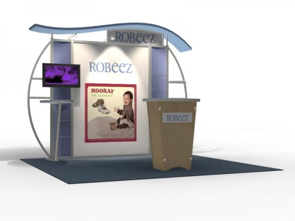 VK-1314 Trade Show Exhibit with Silicone Edge Graphics (SEG) -- Image 2