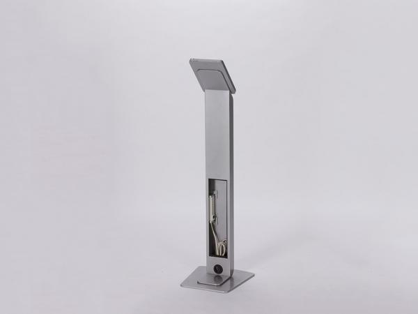 RE-1237 iPad Kiosk / MOD-1312 Silver -- Image 3