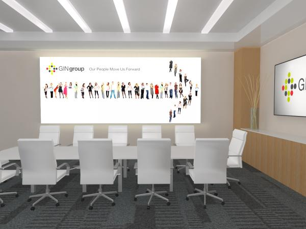 SuperNova Lightboxes -- Conference Room