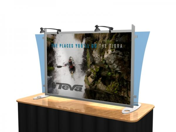VK-1290 Portable Hybrid Trade Show Table Top Exhibit -- Image 3